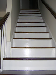 updated staircase after