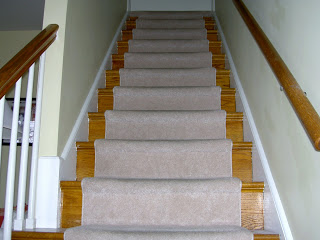Dated staircase makeover