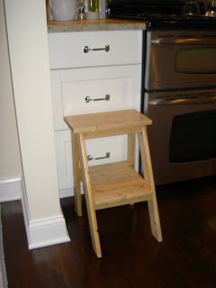 diy step stool for kitchen