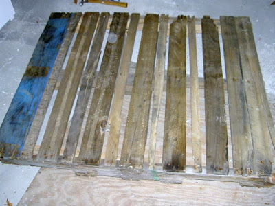 pallet before