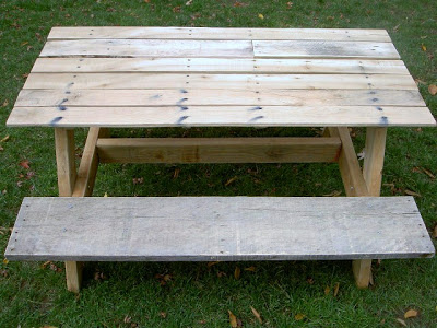kids backyard picnic table