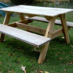 DIY Kids Size Picnic Table