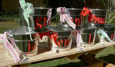 personalized kids pails