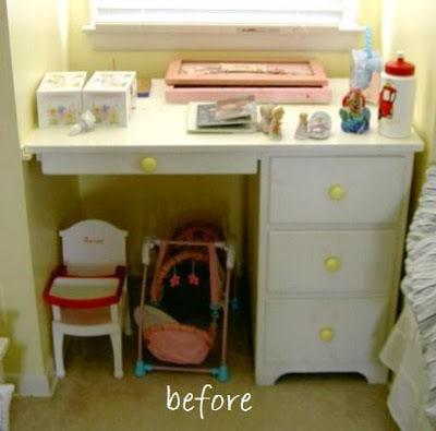 cape dormer built in desk