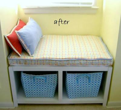 cape dormer windowseat bench