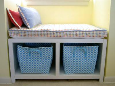diy windowseat bench with storage