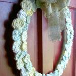 DIY Twisted Fabric Wreath