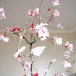 DIY Faux Cherry Blossoms