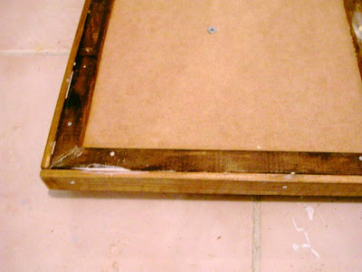 building a mirror frame