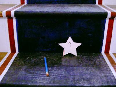 star pattern from yardstick