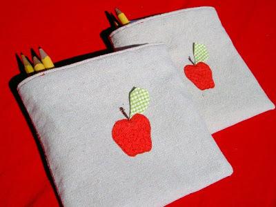 diy drop cloth pouch