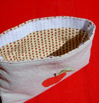sewn in velcro closure