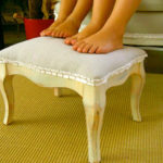 """F"" is for Footstool"