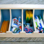 DIY Flatware Storage Box