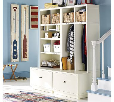 pottery barn cubbies