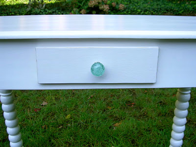 clear stain poly on vanity