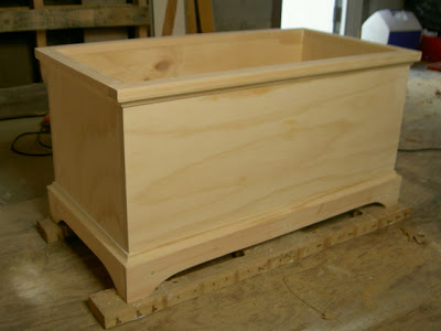 how to build an open toy box
