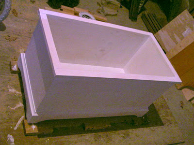 painting an open toy box