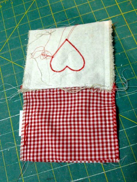good side sewn together