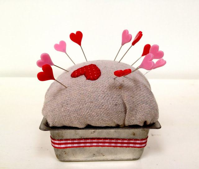 diy pincushion repurposed kids play pans