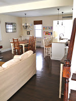 family dining kitchen combination