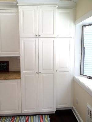 built in mudroom locker cabinets