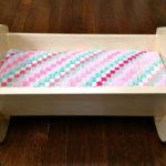DIY Vintage Style Doll Crib