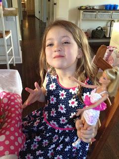 diy barbie birthday party 6 year old girl