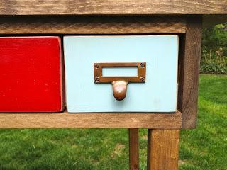 card catalog drawer pulls installed