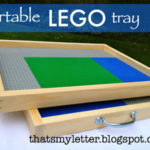 """L"" is for Lego Tray"