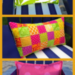 DIY Patchwork Lumbar Pillows