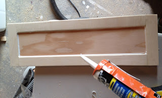 chaulking drawer fronts