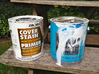cover stain primer and high gloss enamel