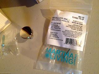 martha stewart medallion knobs