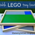 DIY Portable Lego Tray revised