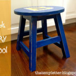 DIY Kid Size Stool