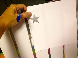 star pattern printout
