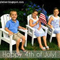 DIY Kids Adirondack Chairs for Fourth of July