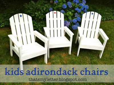 kids adirondack chairs
