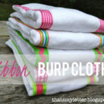 """B"" is for Burp Cloths #2"