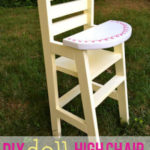 DIY Doll High Chair