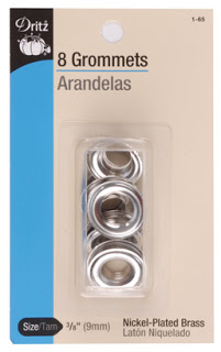 grommets for shower curtain