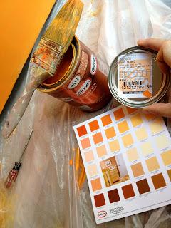 Glidden pumpkin patch paint