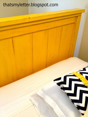 diy painted farmhouse headboard
