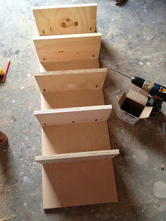 how to make shoe cubbies