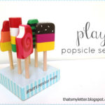 """P"" is for Popsicle Set"