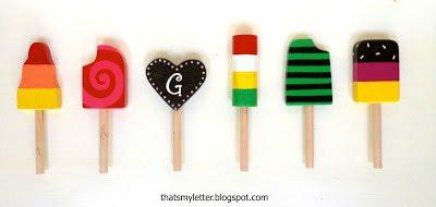 Quot P Quot Is For Popsicle Set Jaime Costiglio