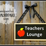 """T"" is for Teachers Lounge"