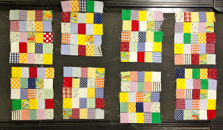 scrap buster quilt strips