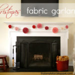 """F"" is for Fabric Garland"